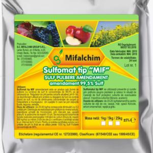 ingrasamant fungicid sulfomat sulf pulbere amendament